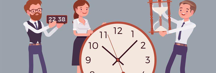 Gestion des temps de travail et des congés pour les entreprises